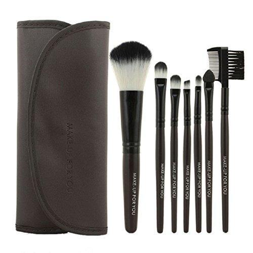 Malloom® 1 Set / 7 PCS pinceau de maquillage cosmétique de maquillage Outils de beauté Brosses