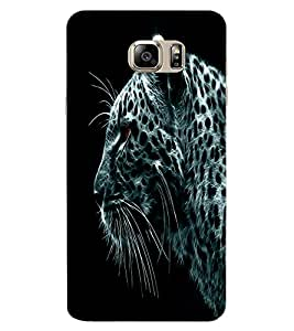 ColourCraft Tiger Look Design Back Case Cover for SAMSUNG GALAXY NOTE 7 DUOS