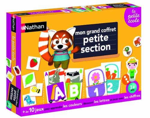 Nathan 31411 valigetta scuola materna prima et for Scuola materna francese
