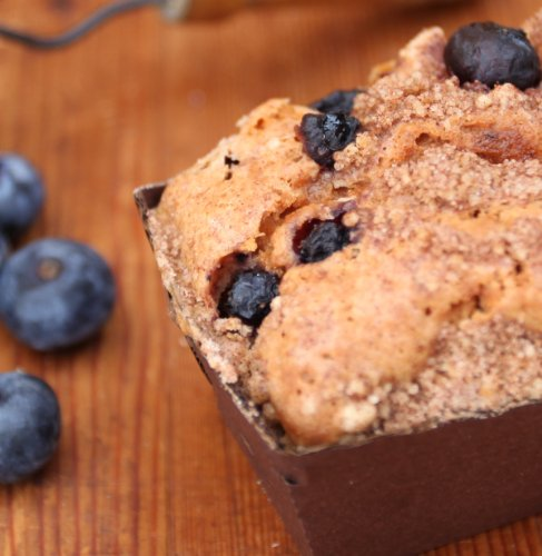 Wild Blueberry Pound Cake - Jumbo