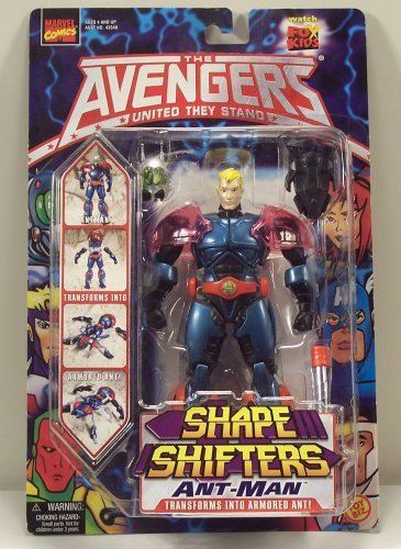 The Avengers United They Stand Shape Shifters Ant -Man by marvel comics toy biz [並行輸入品]