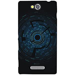 Sony Xperia C Back Cover - Power Designer Cases