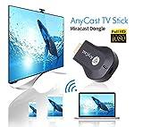 #7: A Z Link AnyCast M2 Plus WiFi 1080P FHD HDMI TV Stick DLNA Wireless Chromecast Airplay Dongle