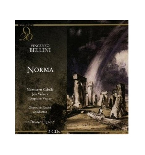 BELLINI : NORMA. CABALLE, VICKERS, VEASEY, PATANÈ.