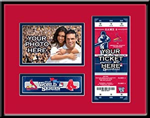 MLB St. Louis Cardinals 2013 World Series Your 4x6 Photo Ticket Frame by That