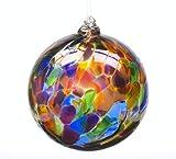 Kitras 6-Inch Calico Ball, Festive/Multi