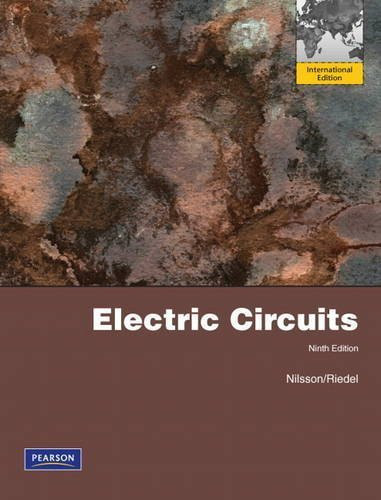 Electric Circuits By Nilsson, James W., Riedel, Susan (2010) Paperback