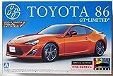 アオシマ 1/24 プリペイントモデルシリーズSP トヨタ 86 GTリミテッド 2012年モデル (オレンジメタリック)
