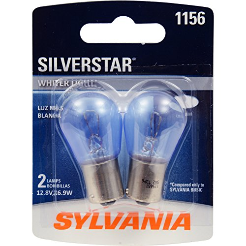 SYLVANIA 1156 SilverStar High Performance Miniature Bulb, (Contains 2 Bulbs) (1988 Honda Accord Headlight Bulb compare prices)