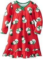 Sara's Prints Big Girls'  Puffed Sleeve Nightgown