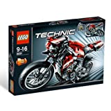 LEGO - 8051 - Jeu de construction - LEGO Technic - La motopar LEGO