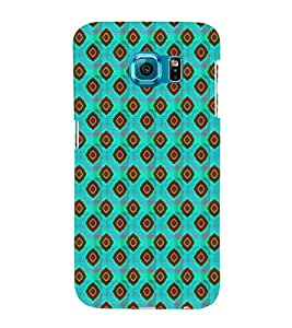 EPICCASE traditional diamonds Mobile Back Case Cover For Samsung Galaxy S6 (Designer Case)
