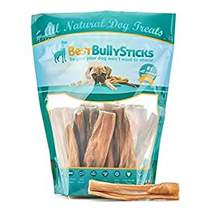 100 natural 4 5 inch beef tripe stick dog chews by best bully s. Black Bedroom Furniture Sets. Home Design Ideas