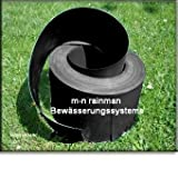 Heavy Duty Lawn Edging Green 2mm thick 50m length 12cm depth for Paths, Driveways, Flowerbeds, Borders, Lawns. 100% Recycled Plastic and easy to use. Safe for children and Pets. Pest Controlby Best4garden