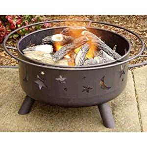 Starry night fire pit patio lawn garden for Amazon prime fire pit