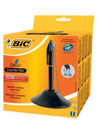 bic-stylo-bille-retractable-sur-socle-couleurs-assorties