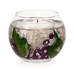 Stoneglow Candle Plum & Blackerry Gel Fish Bowl