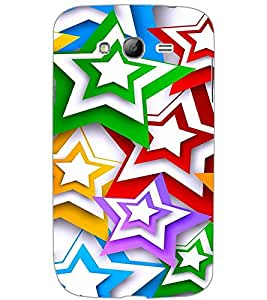 SAMSUNG GALAXY GRAND NEO PLUS STARS Back Cover by PRINTSWAG