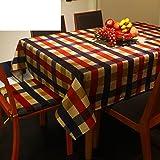 Europen-Mditerrane-orientale--manger-nappe-table-Plaid-rond-nappe-Serviette-de-rfrigrateur-A-90x90cm35x35inch