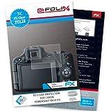 3 x atFoliX Displayschutzfolie Canon PowerShot SX50 HS Schutzfolie - FX-Clear kristallklar