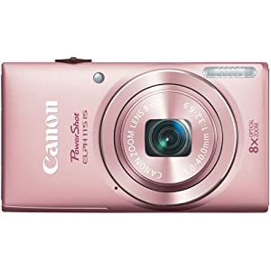 Canon PowerShot ELPH 115 16MP Digital Camera (Pink)