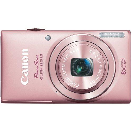 51OT5A1V1uL Canon PowerShot ELPH 115 16MP Digital Camera (Pink)