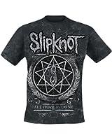 Slipknot Blurry Allover T-Shirt black