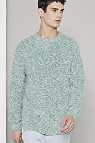 Men's Fashion Show Multi Color Crew Neck Sweater