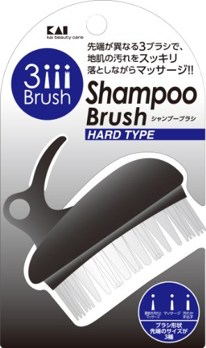 貝印 メンズシャンプーブラシ ハード HB1205