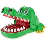 Krokodil Biss Finger ziehen Zähne Spiel Kinderspiel Tolles Weihnachtsgeschenk fuer Kinder