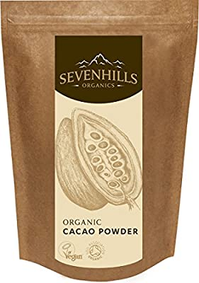 Sevenhills Wholefoods Organic Cacao / Cocoa Powder, Soil Association certified organic
