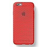 AndMesh iPhone 6s/6 ケース メッシュケース【Amazon限定 USAモデル】レッド 赤 AMMSC623-RED