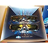Samsung SSG-3100GB 3D Active Glasses - Black (Only Compatible with 2011 3D TVs) (Pack of 2)