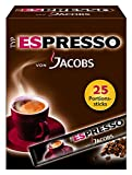Jacobs Espresso Sticks 25 Portionen / Packung, 4er Pack (4 x...