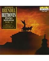 Beethoven: Piano Sonatas, Vol. 4 (Nos. 2, 3, 7, 8, 11, 12, 24) (Brendel)
