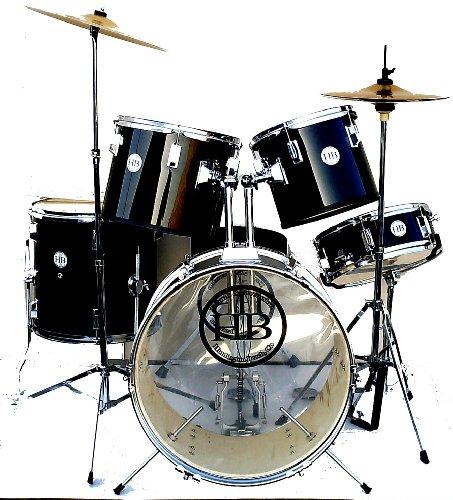 best price hb drums studiob lowest priced drum set made in usa hb usa pvc colors deep ocean. Black Bedroom Furniture Sets. Home Design Ideas