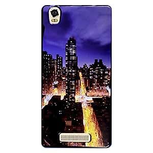 Shopme Printed Designer Back cover_5428_for Intex Aqua Power 4G