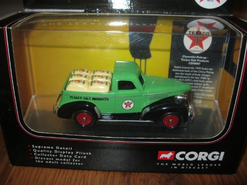 CORGI TEXACO SALT PRODUCTS-CHEVEROLET PICK-UP - 1