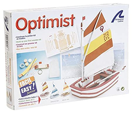 Maquette en bois - Optimist : Facile