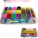 VanyStore XXL Loom Bands Starter Set ink 4200 Loom Bandz...