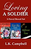 img - for Loving A Soldier: 3 World War II Romance Novels book / textbook / text book