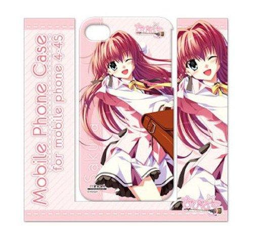 すぴぱら モバイルフォンケース<4・4S対応>B: 桜