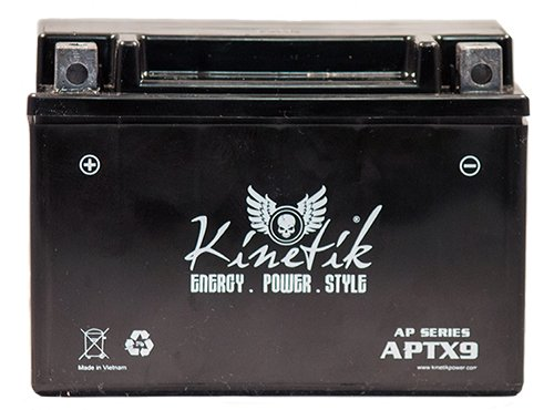 12V 8Ah Battery for Honda CBR600 VT600 C XR 650L Kawasaki Ninja ZX 636 (650 Cca Car Battery compare prices)