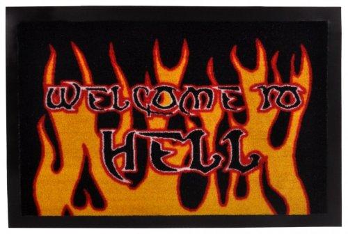 ZERBINO-ZERBINO Hanse Home ZERBINO 101552Welcome to Hell