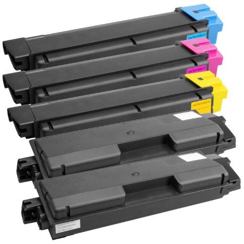 5 Toner-Patronen XXL für Kyocera Mita TK-590 XXL FS-C2026 MFP FS-C2126 MFP PlatinumSerie
