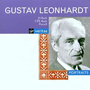 Gustav Leonhardt - Portrait ~ J.S. Bach, C.Ph.E. Bach, Purcell
