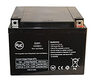 Air Shields TI58 Double Transport Incubator 12V 26Ah Medical Battery - This is an AJC Brand® Replacement