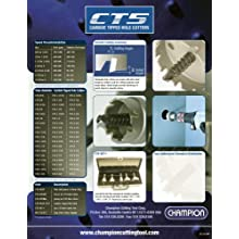 Champion CT5-1-1/16 Tungsten Carbide Tipped 1-1/16-Inch Hole Cutter-3/16-Inch Thin Metal