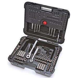 craftsman 220 pc mechanics tool set with case 36220 socket wrenches. Black Bedroom Furniture Sets. Home Design Ideas