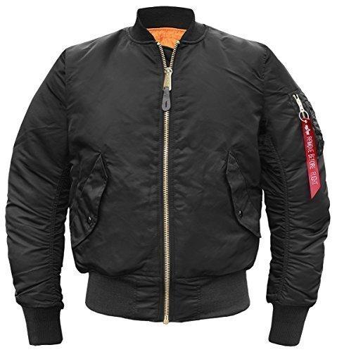 Alpha Industries -  Giacca - Camicia - Basic - Maniche lunghe  - Uomo nero Medium